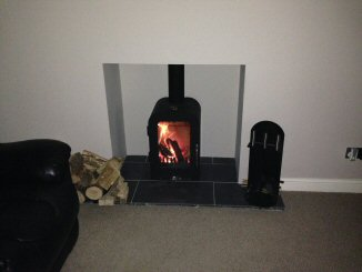 Woodburner fitted