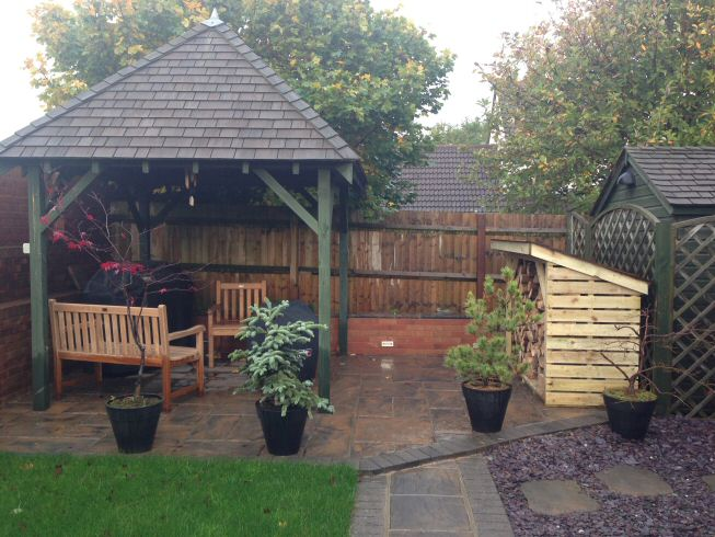 garden buildings decking and patios mike whittaker builders weston